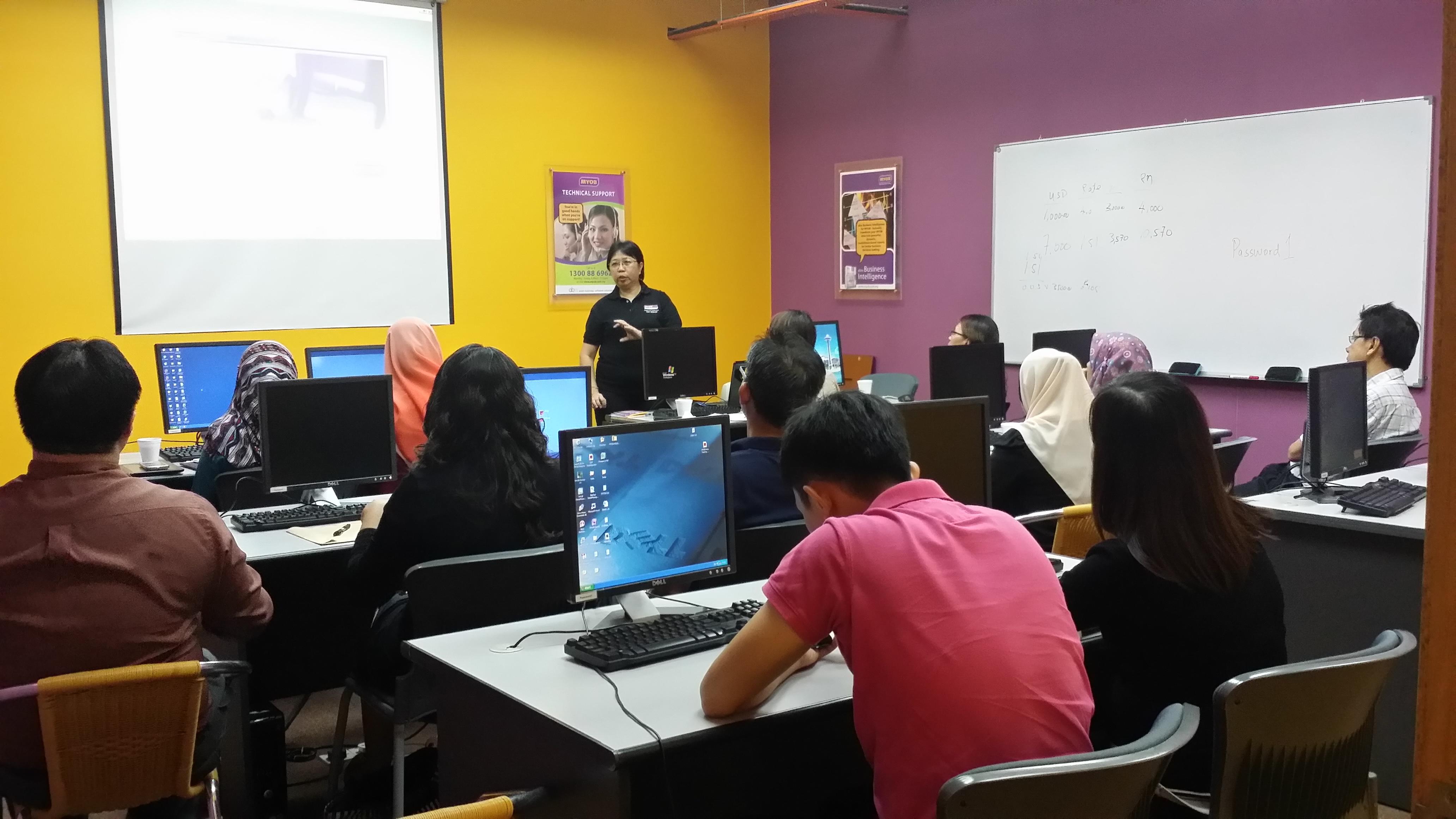 Myob Classroom Training In Kl